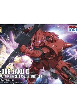 HG Char's Zaku II Origin Ver. 1/144 (Bandai)