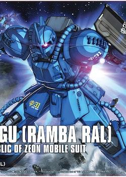 HG Bugu Ramba Ral Origin Ver. 1/144 (Bandai)