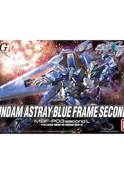 HG Gundam Astray Blue Frame Second L 1/144 (Bandai)