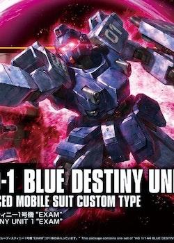 HGUC Gundam Blue Destiny Unit 1 Exam 1/144 (Bandai)