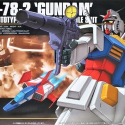 HGUC RX-78-2 Gundam 1/144 (Bandai)
