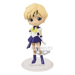 Sailor Moon Eternal The Movie Q Posket Figure Super Sailor Uranus Ver. A (Banpresto)