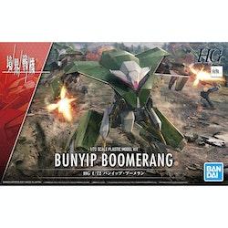 HG AMAIM Warrior at the Borderline Bunyip Boomerang 1/72 (Bandai)