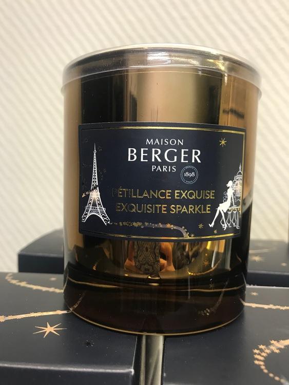 Doftljus juledition exquisit sparkle - Maison Berger Paris