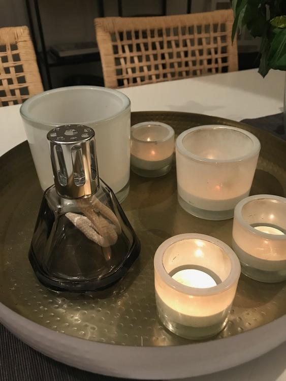 Doftlampa Gem Noire/svart presentförpackning- Maison Berger Paris
