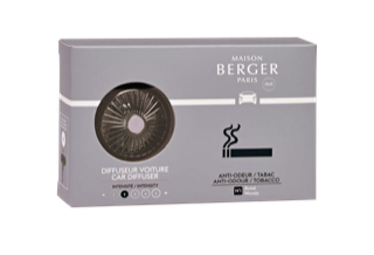 Bildoft / cardiffuser, Anti Odour, Tobacco, Woody - Maison Berger Paris
