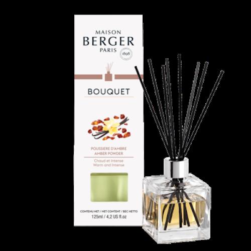 Doftpinnar - Diffuser, Bouquet Amber Powder - Maison Berger