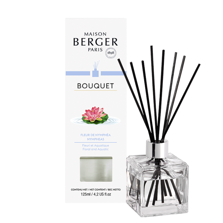 Doftpinnar - Diffuser, Bouquet, Nymphea - Maison Berger Paris