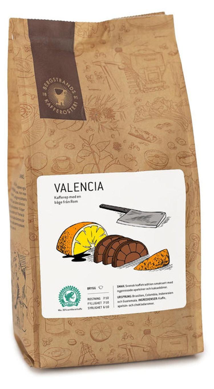 Valencia kaffe med smak av kraftfulla romerska bågar