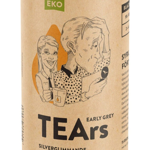 Early grey TEArs EKO svart te ljuvlig Earl Grey