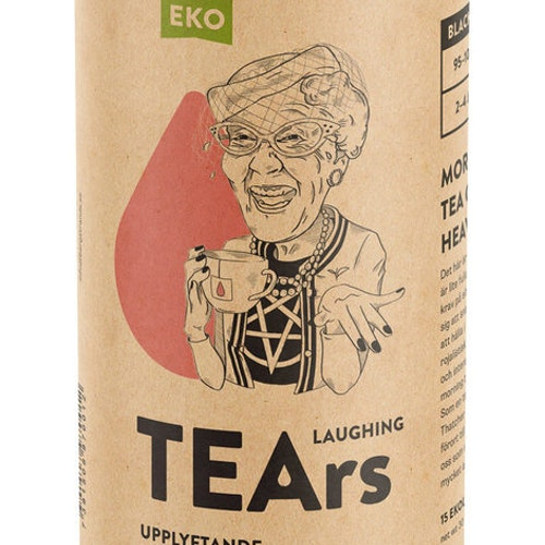 Laughing TEArs EKO svart te upplyftande English breakfast