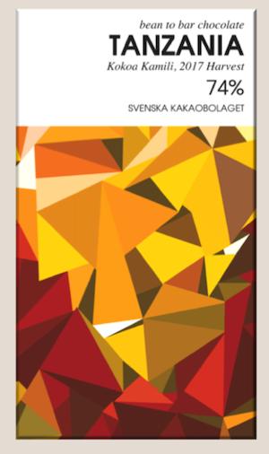 Tanzania 74% Choklad 50g från Svenska kakaobolget