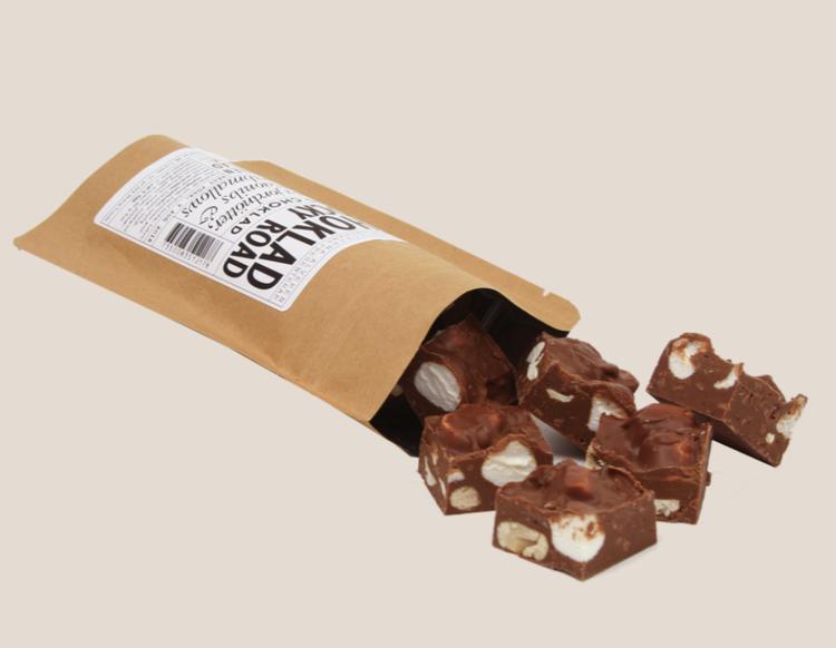 Chokladrutor Rocky road 80g