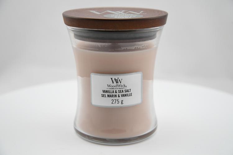 WoodWick Vanilla & Sea Salt