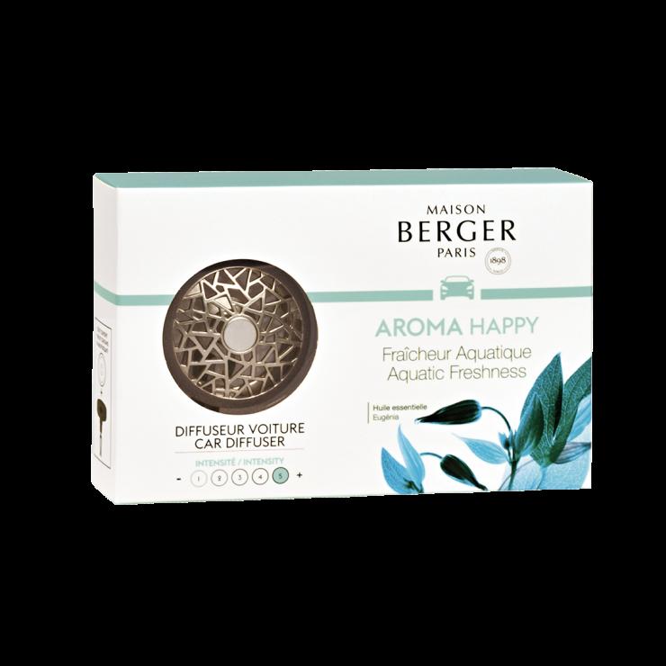 Bildoft / Cardiffuser, Aroma Happy, Aquatic Freshness - Maison Berger Paris