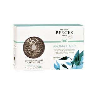 Bildoft / Cardiffuser, Aroma Happy, Aquatic Freshness - Maison Berger Paris