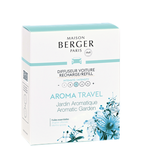 Bildoft / Cardiffuser, Refill, Aroma Travel, Aromatic Garden - Maison Berger Paris