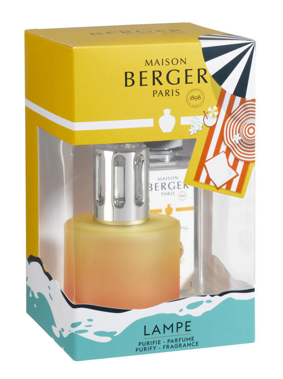 Katalytisk Doftlampa, Giftsett, Doft Coconut Monoi - Maison Berger (Lampe Berger) Paris