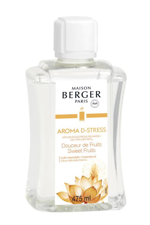 Aroma D-stress, Sweet Fruits Doft Refill, Mist Diffuser - Maison Berger Paris