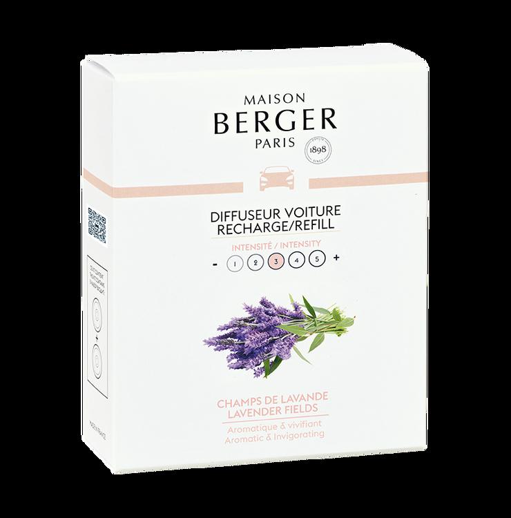 Bildoft/Cardiffuser, Refill Lavender Fields - Maison Berger Paris
