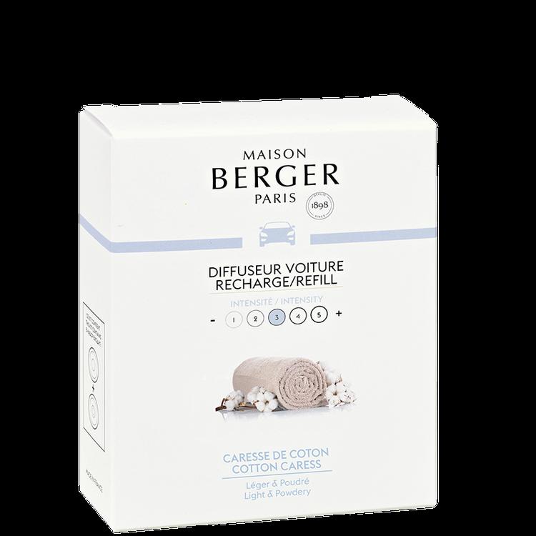 Bildoft/Cardiffuser, Refill Cotton Caress - Maison Berger Paris
