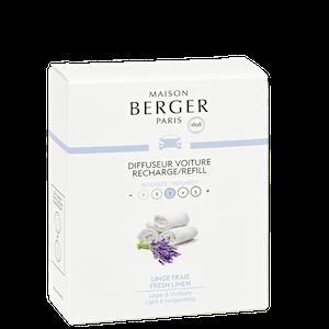 Bildoft/Cardiffuser, Refill Fresh Linnen - Maison Berger Paris