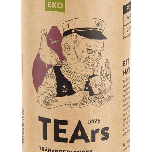 Tears- ekologisk Rooibos ljuvlig passionsfrukt & youghurt EKO