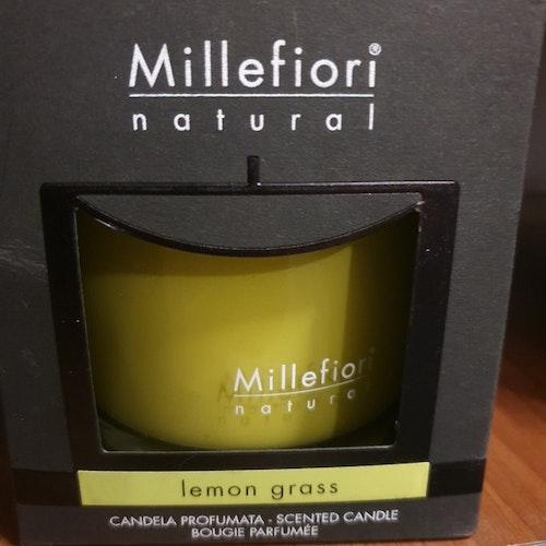 Doftljus lemon grass från Millefiori Milano