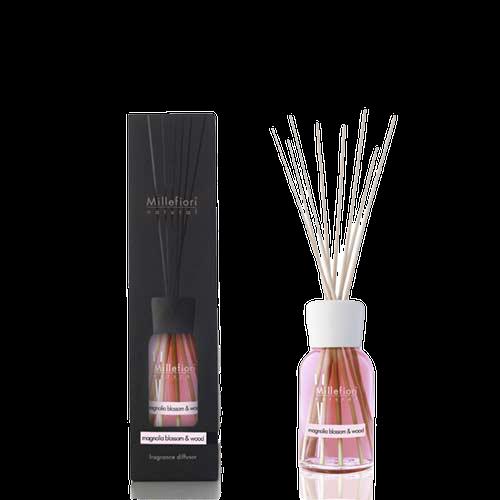 Doftpinnar / diffuser 100 ml Magnolia Blossom & Wood - Millefiori Milano