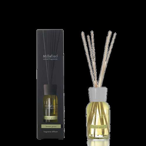 Doftpinnar / diffusor 100 ml Lemon Grass - Millefiori Milano