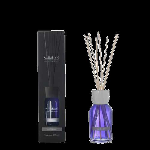 Natural diffuser a stick  100 ml Cold Water - Doftpinnar Millefiori