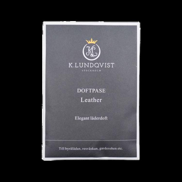 Doftpåse Leather från K.Lundqvist. Doft av ny bil!
