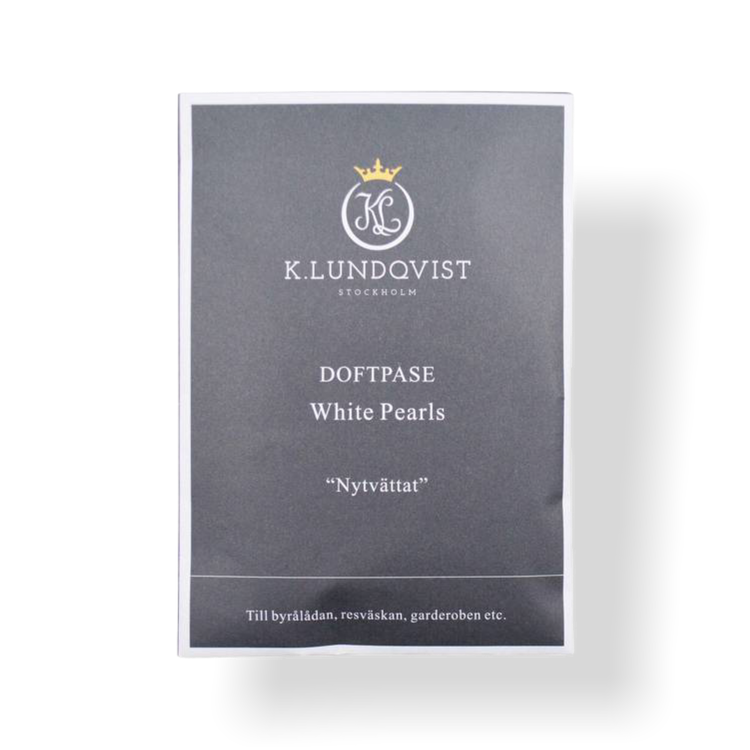 Doftpåse White Pearls från K.Lundqvist, härlig doft av nytvättat!