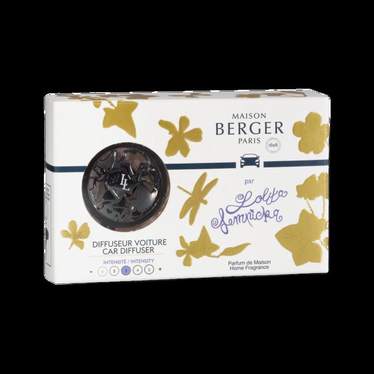 Bildoft Lolita Lempicka med snygg fläkthållare från Maison Berger Paris
