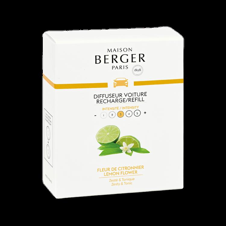 Bildoft / Cardiffuser refill Lemon Flower - Maison Berger
