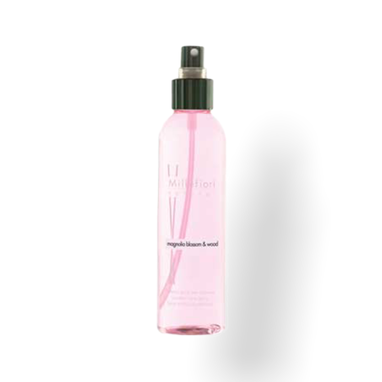 Doftspray / rumspray magnolia blossom & wood - Millefiori Milano 150 ml