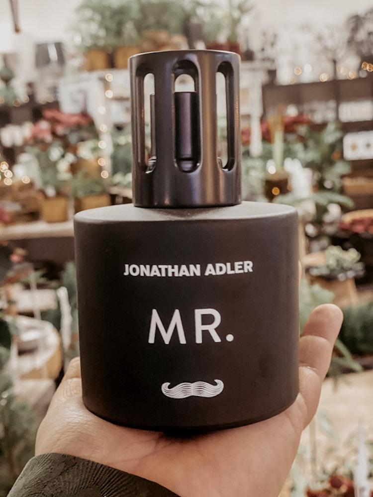 Katalytisk doftlampa MR - Jonathan Adler- Presentset från Maison Berger Paris, komplett med doften wilderness.