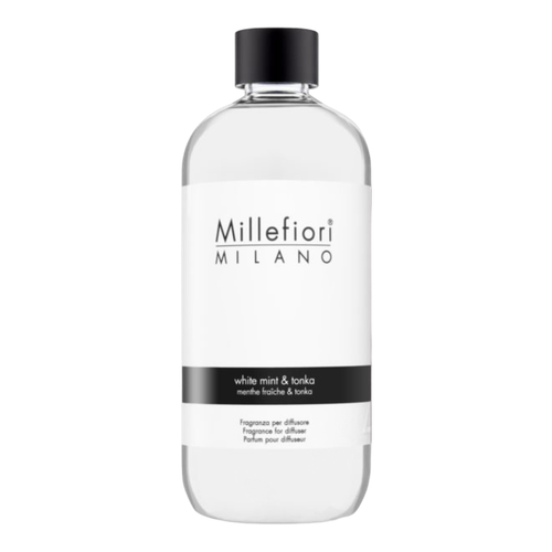 Refill doftpinnar - White mint & Tonka - Millefiori