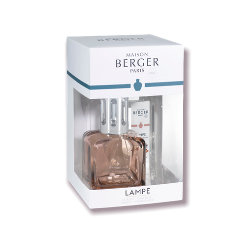 Doftlampa Cube Nude – Giftset Amber Powder