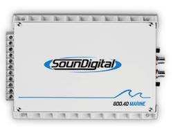 Soundigital 800.4D Marine 2 Ohm