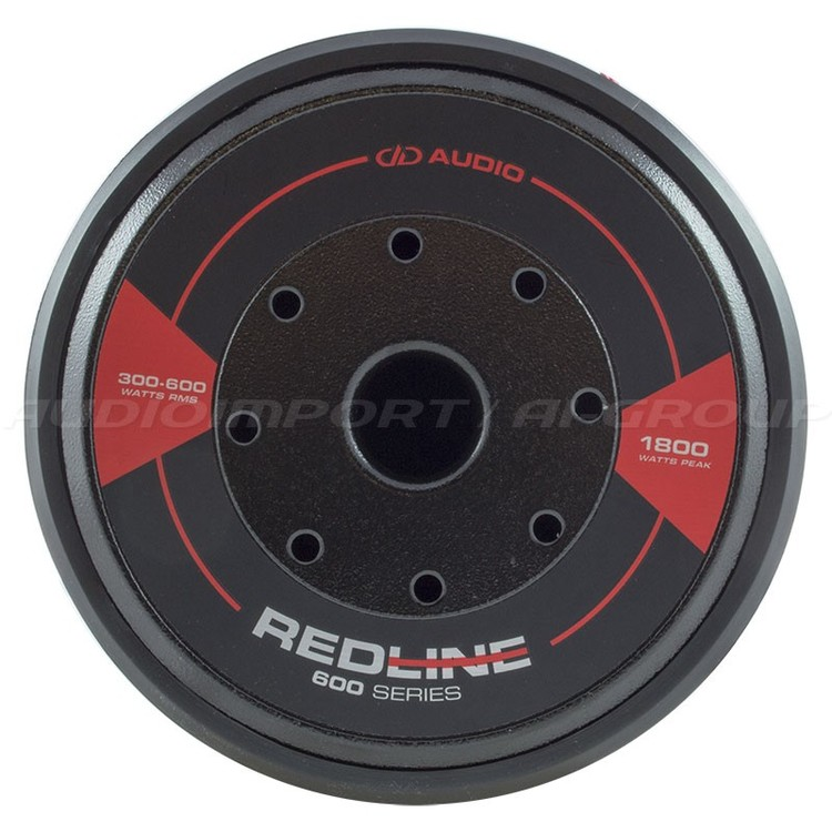 DD Audio Redline 608d 2x2 Ohm