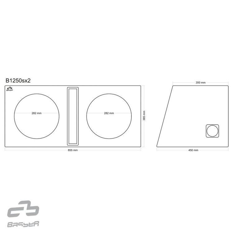 "Basser B1250SX2 (2 x 12"")"