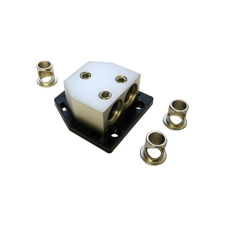 4 Connect 3x20/50 mm Distributionsblock