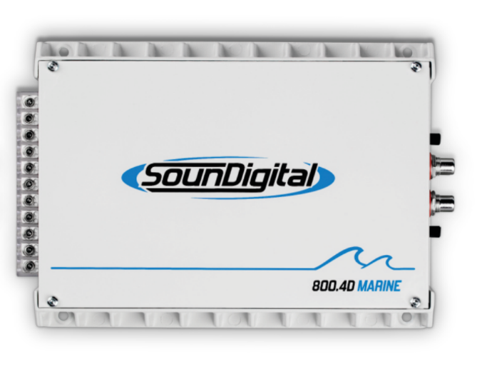 Soundigital 800.4D Marine 4 Ohm