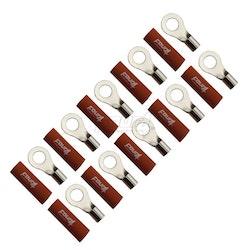 4 Connect M8 Ringkabelsko, 2-pack - 50 mm