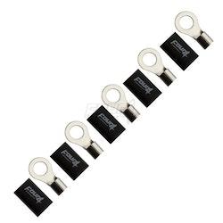 4 Connect 35mm M12 ringkabelsko, 5-pack