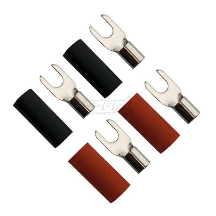 4 Connect M4 gaffelkabelsko, 2-pack - 35 mm
