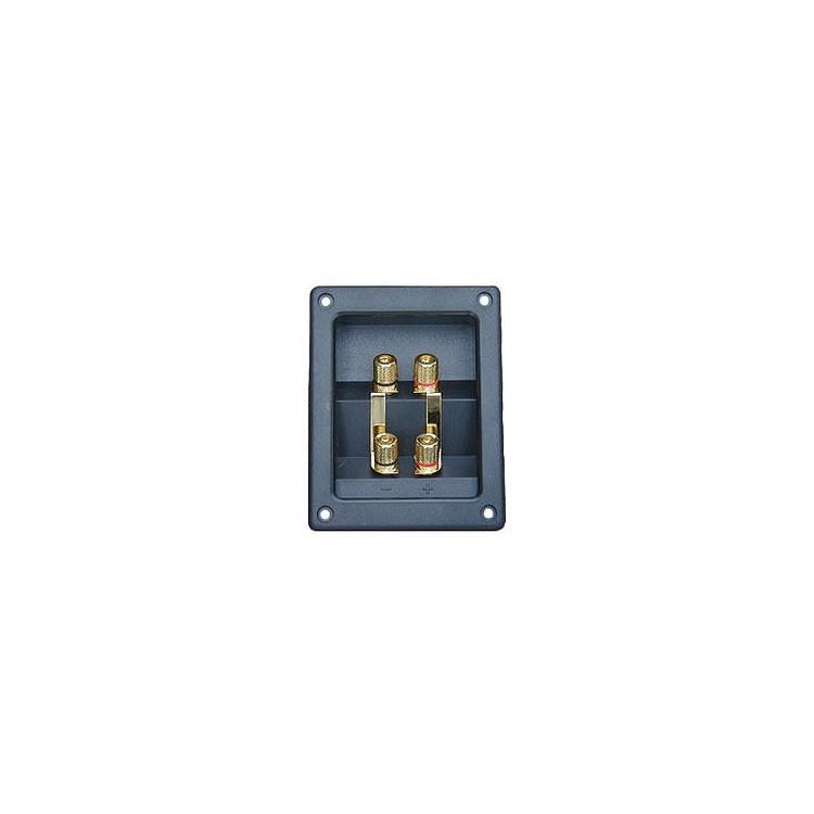 4 Connect Högtalarterminal 4-polig