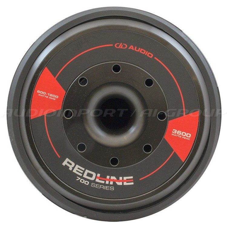 DD Audio Redline 712d 2x4 Ohm