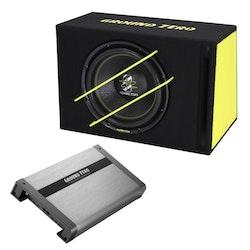 Ground Zero 400 SPL Bass Kit Titanium